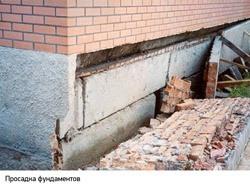 Восстановление фундамента г.Белово